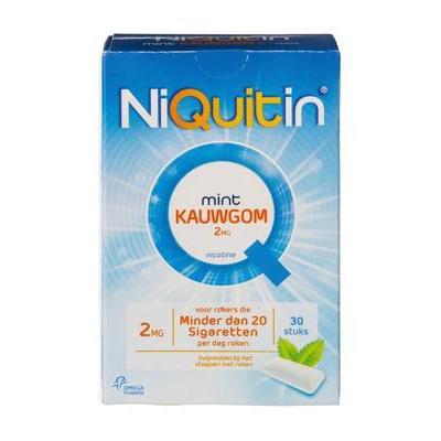 Nicotine kauwgom