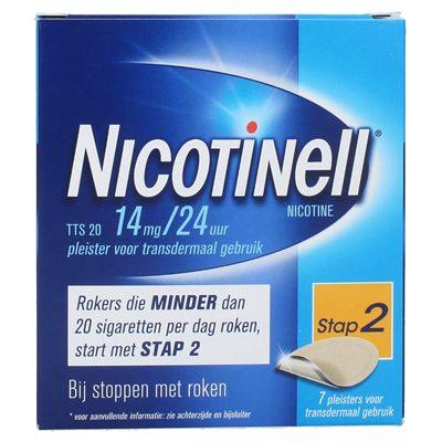 Nicotinell nicotine pleisters