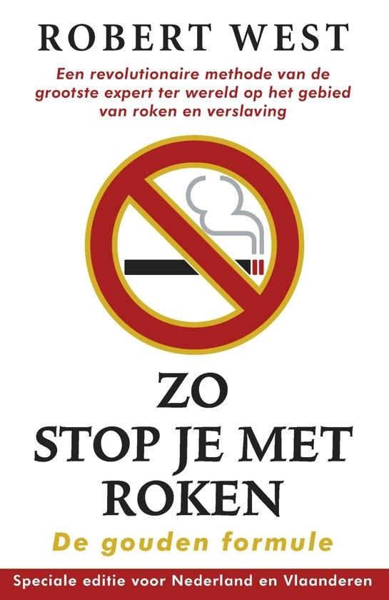 Zo stop je met roken - De gouden formule | Robert West
