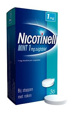 Nicotinell zuigtablet mint 1 mg