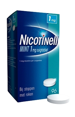 Nicotinell zuigtablet mint 1 mg 96stuks