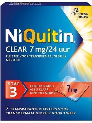 NiQuitin Clear 7 mg/24 uur stap 3