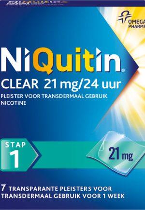 Niquitin Stap 1 21 Mg (7st)