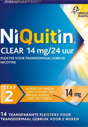 Niquitin Stap 2 14 Mg (14st)